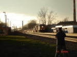 CSX 5222 (ES44DC) heads EB on the #2 Track w/Ian taking pics right ifo me